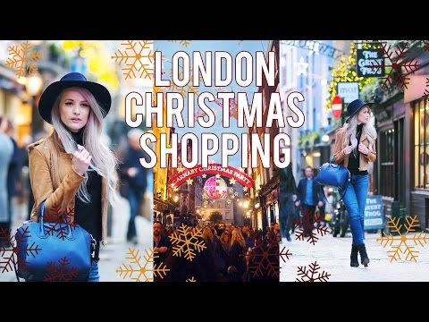 LONDON SHOPPING AND DIOR FOR XMAS  | FROWMAS DAY 19&20