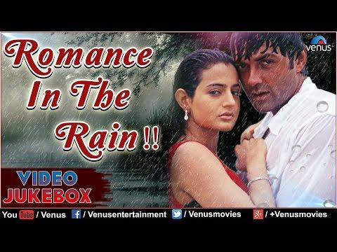 Romance In The Rain : Hot Bollywood Songs    Video Jukebox