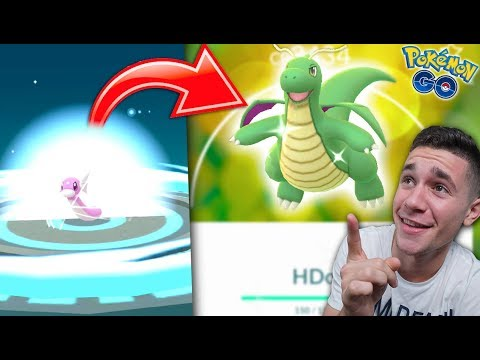 EVOLVING TO SHINY DRAGONITE in Pokémon Go!✨ NEW BEST SHINY IN THE GAME!