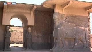 داعش يجرف مدينة نمرود الأثرية