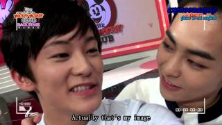 [ENG SUB] Mickey Mouse Club Backstage Xiumin