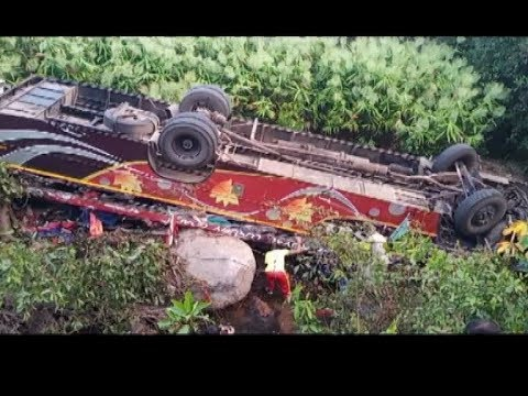 Road Accident- 7 Killed, 40 Injured As Bus Overturns In Odisha's Taptapani