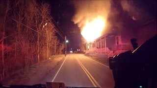 BVFD Engine 3 Responding to a Working Fire, 12/6/15