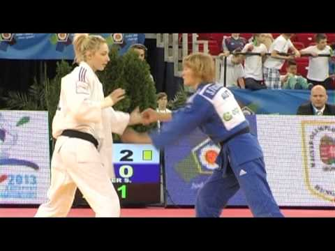Interview Automne Pavia (FRA) -57kg ECh Budapest 2013