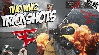 DID I REALLY HIT THIS TRICKSHOT... (2 Shots!) - WW2 SND Trickshotting!