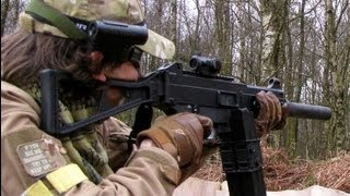 Airsoft War FPS CQB Action. Crail Scotland HD