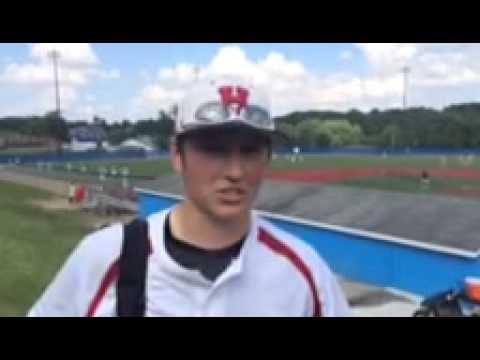 Clyde Yoder - Hiland Hawks Baseball Post-Game Interview