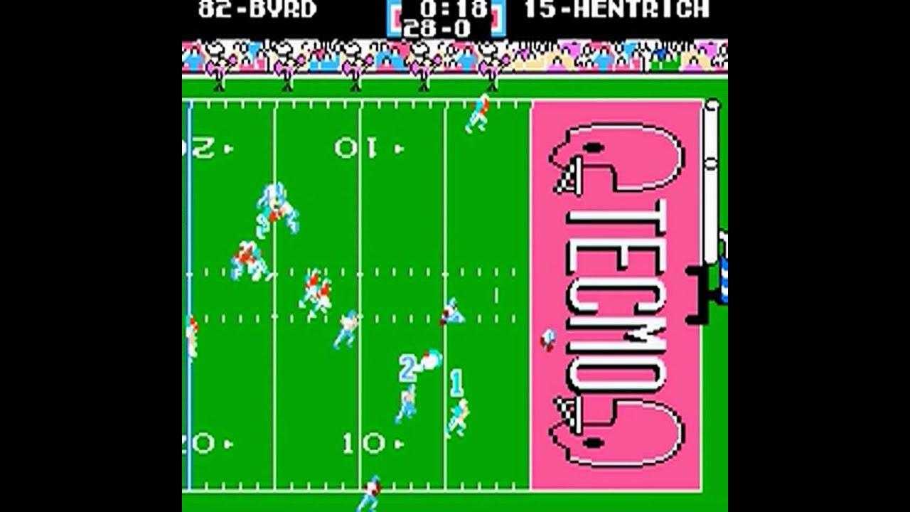 Punt Return Touchdown Tecmo Super Bowl Punt Return
