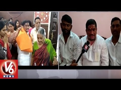 Ex MP Ponnam Prabhakar Visits Basara Saraswathi Temple Along With His Family | V6 News