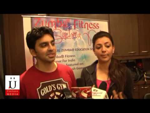 Kaajal Aggarwal Inaugrates India's First Zumba Gym