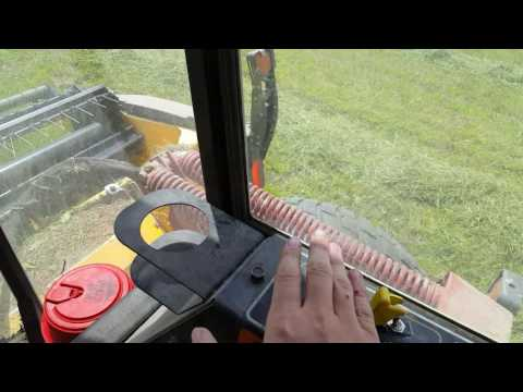 How to operate a swather. (Last summers job)