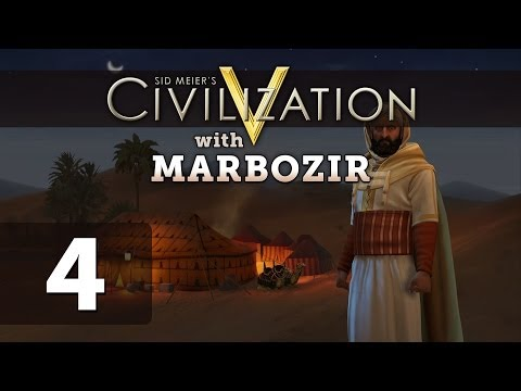 Civilization 5 Brave New World Deity Morocco Let's Play - Part 4