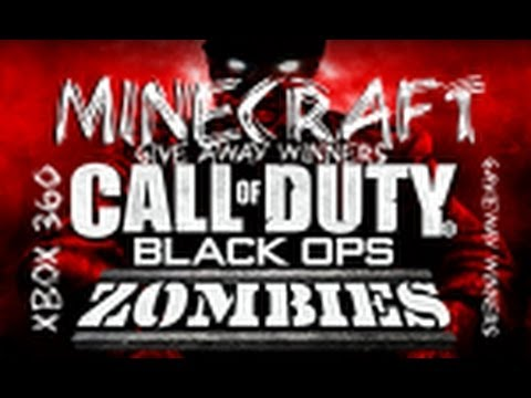 MINECRAFT XBOX 360 8 IN 1  ZOMBIES MAP WITH DOWNLOAD