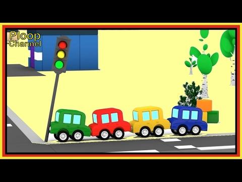 Cartoon Cars - TRAFFIC LIGHTS Crash! Cartoons for Children - Videos for Kids - Kids Cars Cartoons