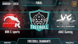 Freeroll Diamante #1 (Final) - BRK E-Sports VS sKAE Gaming Parte 2