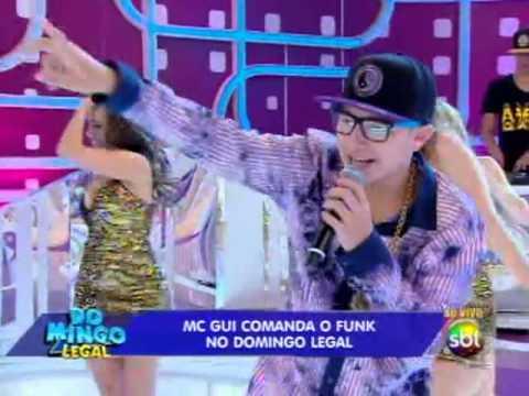 Domingo legal (8/12/13) - MC Gui canta sucessos no palco do Domingo Legal