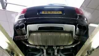 Porsche Cayenne Turbo 4.5l V8 - Valve controlled (stock) exhaust - EPS Uitlaten BV