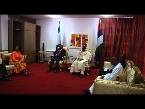 President Jacob Zuma attends inauguration of General Muhammadu Buhari