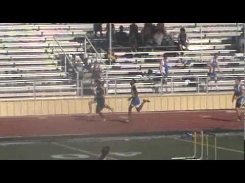 Tate Varsity 400m Dash 3-31-2012(Seguin High School)