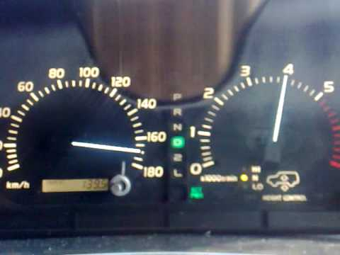 Cruiser Top Speeds Cygnus/lx470 Top Speed on