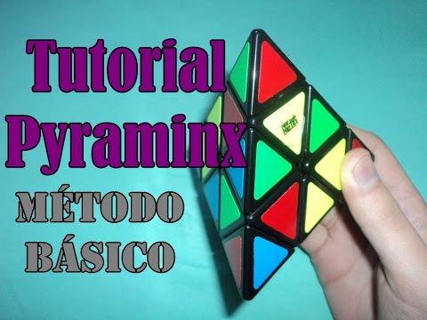 TUTORIAL Resolver Pyraminx con sólo 2 algoritmos   ESPAÑOL   MÉTODO BÁSICO