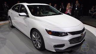 2016 Chevy Malibu - 2015 New York Auto Show