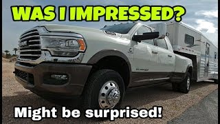 2019 RAM 3500 Heavy Duty Driving and Towing. STRONG ENOUGH? Find out!
