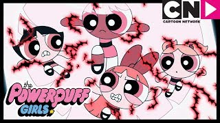 Powerpuff Girls | Saving Bliss and Fighting HIM With Love | Cartoon Network