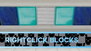 Rightclick Blocks in Minecraft [Tutorial]