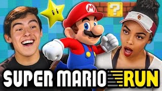 SUPER MARIO RUN (Teens React: Gaming)