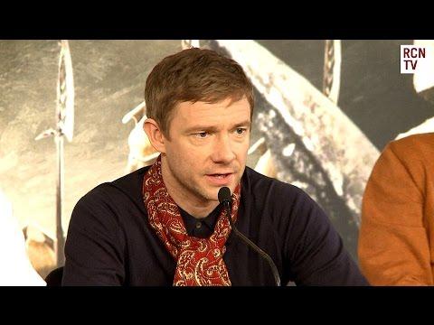 Martin Freeman Interview -  The Hobbit Battle of the Five Armies Premiere