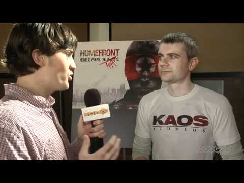 Homefront Interview: Multiplayer Reveal