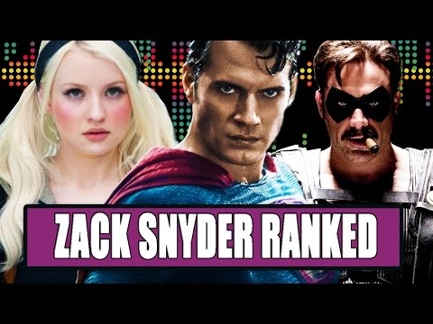 7 Zack Snyder Movies Ranked