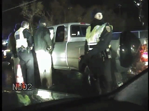 DUI checkpoint refusal to search, arrest for DUI 0% BAC