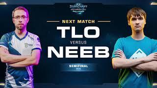 Neeb vs TLO PvZ - Semifinals - WCS Challenger NA Season 1