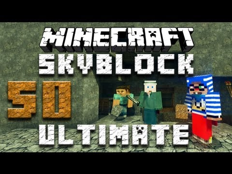 Minecraft SkyBlock Ultimate Ep 1 w/ Luclin & ChimneySwift