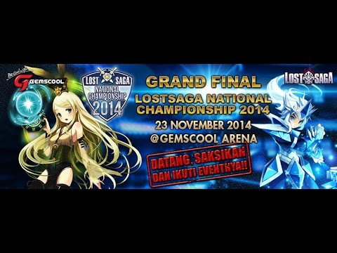 [Live Streaming] Grand Final LSNC 2014