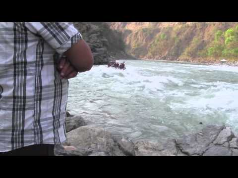 Rafting Adventure at ONS Rishikesh Trip 2014