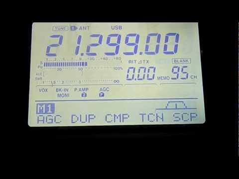 Ham Radio QSO with France