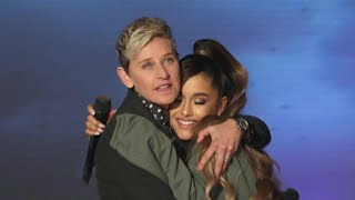 Behind Ariana Grande's Interview Mishap on Ellen