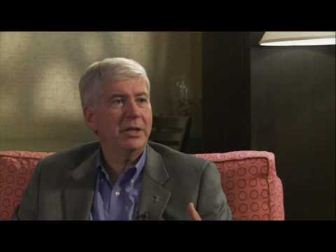 Governor Rick Snyder Interview