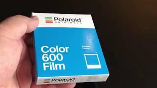 Comparatif films 600 Polaroid Originals/Impossible/Polaroid