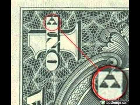 Triforce On One Dollar Bill Youtube