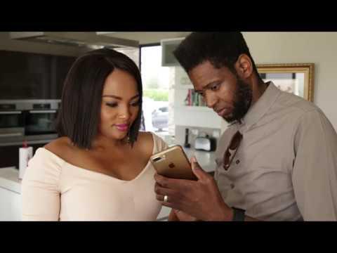 Siba Mtongana and her husband Brian