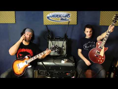 Gibson Les Paul Shootout - The New 2012 Spec Gibson Les Paul Standard Vs 2008 Les Paul Standard