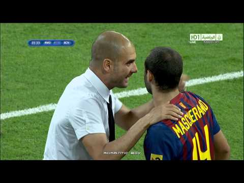 Amazing goal David Villa vs Real Madrid Full HD