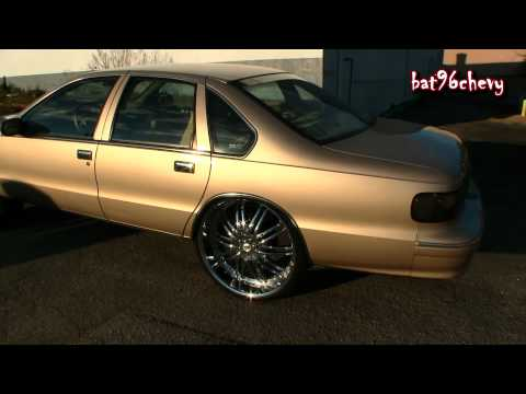 96 Impala SS on 28's & 96 Caprice on 26's - 1080p HD
