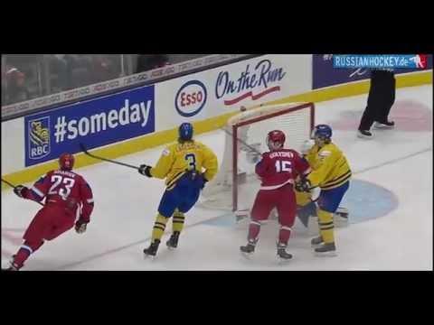 Russia - Sweden 4:1 █ WJC 2015 Semi-Final █ МЧМ 1/2 финал █ Россия Швеция
