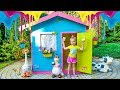 Funny Baby coloring playhouse Video for kids
