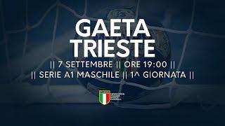 Serie A1M [1^]: Gaeta - Trieste 24-22